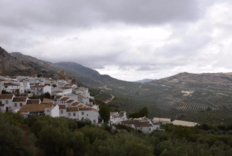 Panorámica de Zuheros - Córdoba